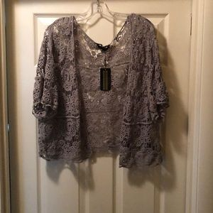 Super cute lightweight cardigan. New with tags 3X